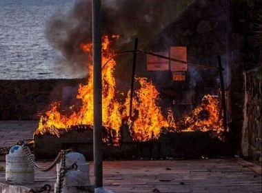 Morre mulher alvo de ataque na Barra que teve 92% do corpo queimado