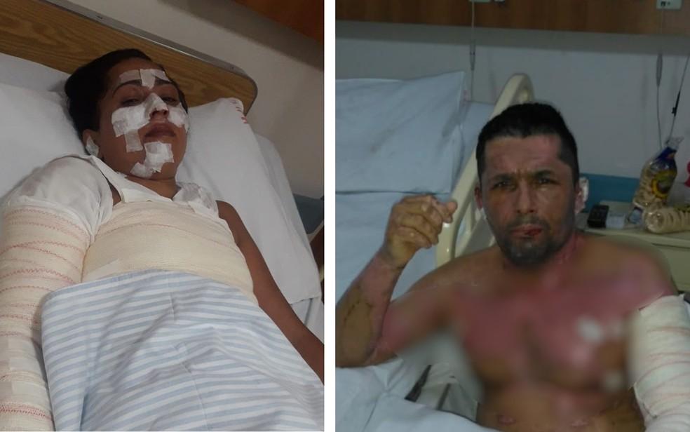 Família se queima ao usar álcool para cozinhar por falta de gás e precisa de ajuda para pagar tratamento, em Anápolis/